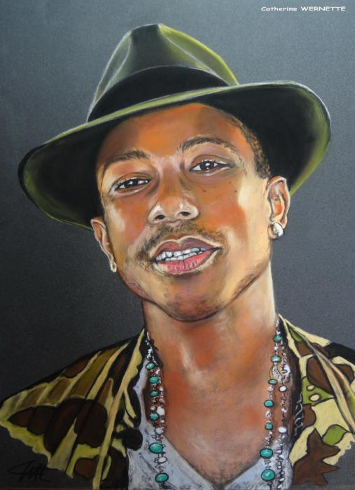 Pharrell Williams por KTY